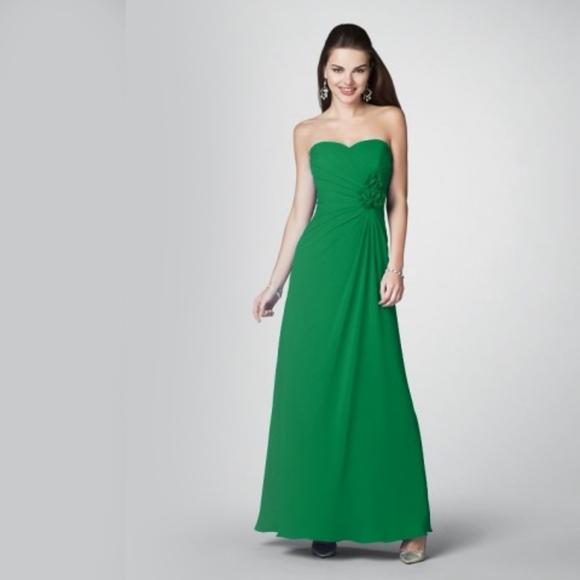 d77dbfdb42219 Alfred Angelo Dresses | 7180 Strapless Bridesmaid Dress | Poshmark